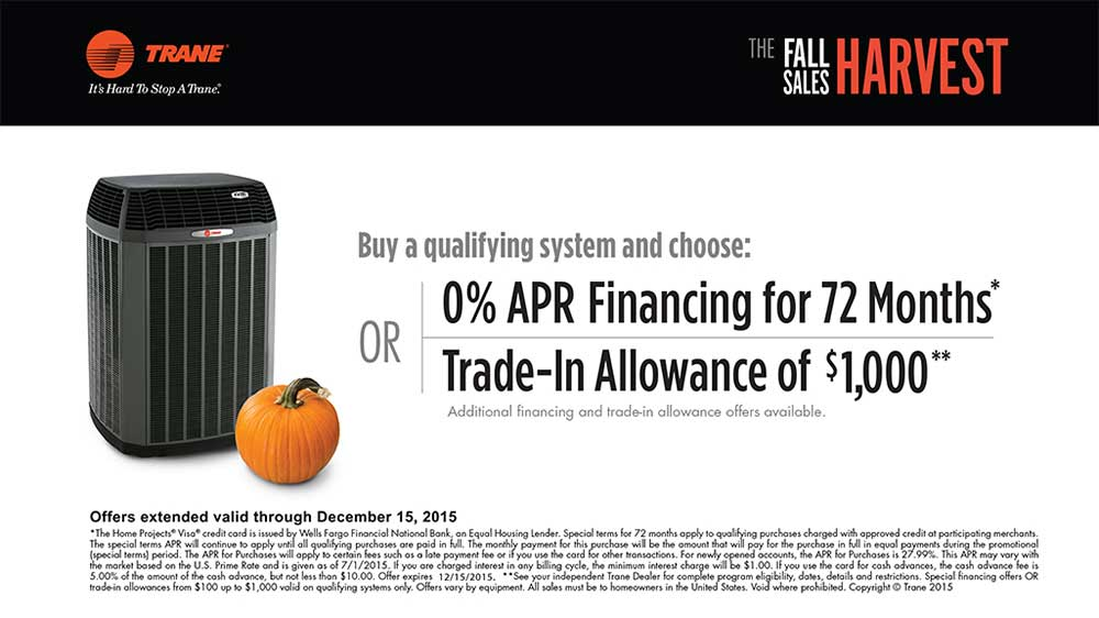 2015 Fall Promotions